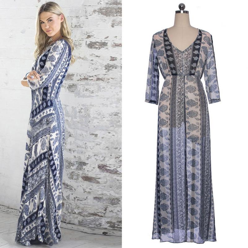 Bohemian Evening Gowns Promotion-Shop for Promotional Bohemian ...