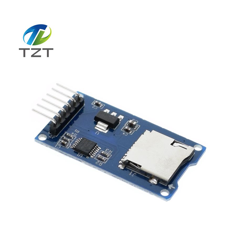 1pcs Micro SD card mini TF card reader module SPI interfaces level converter chip arduino