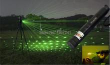 Mejores ventas de láser caneta 303 532nm Portable fresco Lazer 10000 mw alta potencia puntero láser verde puntero láser verde(China (Mainland))