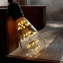Vintage Edison Bulb Retro Lamp ST64 40W Incandescent Light Bulb ST64 DIY lampada edison lamps E27/220V lamp For Pendant Lamp(China (Mainland))