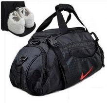 2015 new Large travel bag brand Outdoor Waterproof Sport bags Gym bag Men and Women Independent shoe bag free shipping G186(China (Mainland))