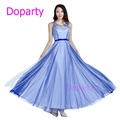 Doparty XS2Formal Long Dinner Blue Mother of the Bride Special Occasion A line Engagement Evening Dresses