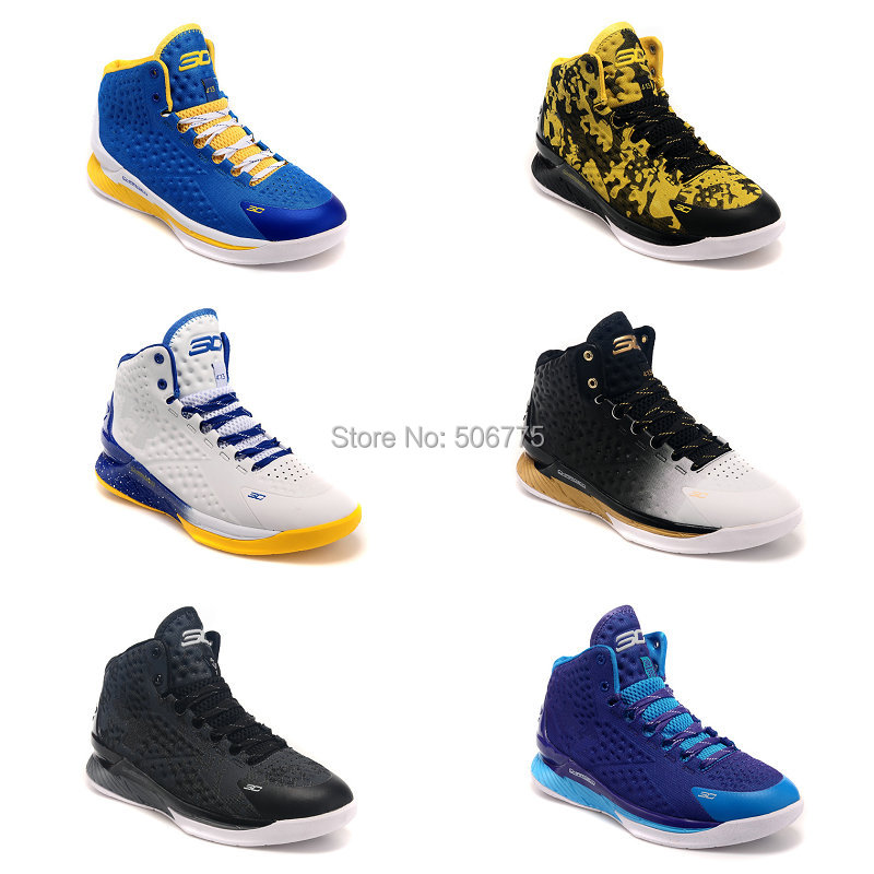 2015 new high top stephen curry one basketball shoes for