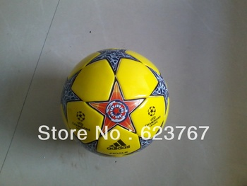 Free shipping 2013 newest high quality PVC Sports Football