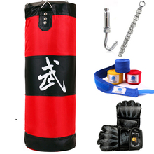 100cm Training Fitness MMA Boxer Boxing Bag Hook Hanging Sport Bag Sand Punch Punching Bag Sandbag(China (Mainland))