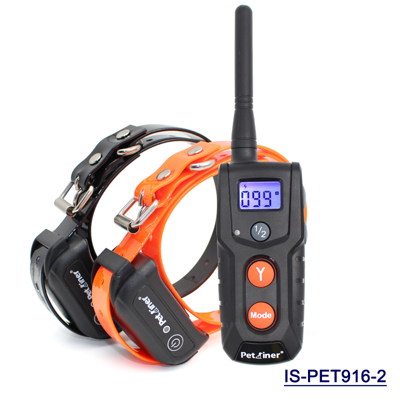 Petrainer PET916 300m Remote Dog Training Shock Collar with Beep/Vibration / Safe Electronic E-collar,Rechargeable & Waterproof(China (Mainland))