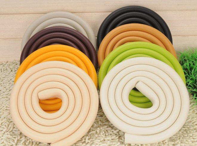 U shape Baby Kid Safety Softener Table edge cushion Child safe protective 2 meters - ARTKAL BEADS-UKENN EDUCATIONAL TOYS store