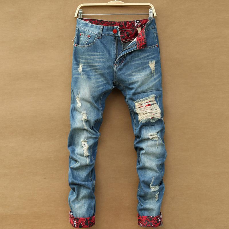 Mens Patchwork Pants For Men  Fashion Patchwork