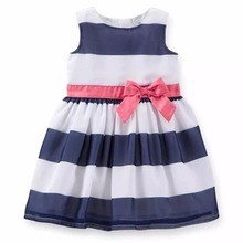 Discount brand carters baby girl summer dress , pure soft party girls dresses 0-24M  kids clothes for infantis menina vestido(China (Mainland))