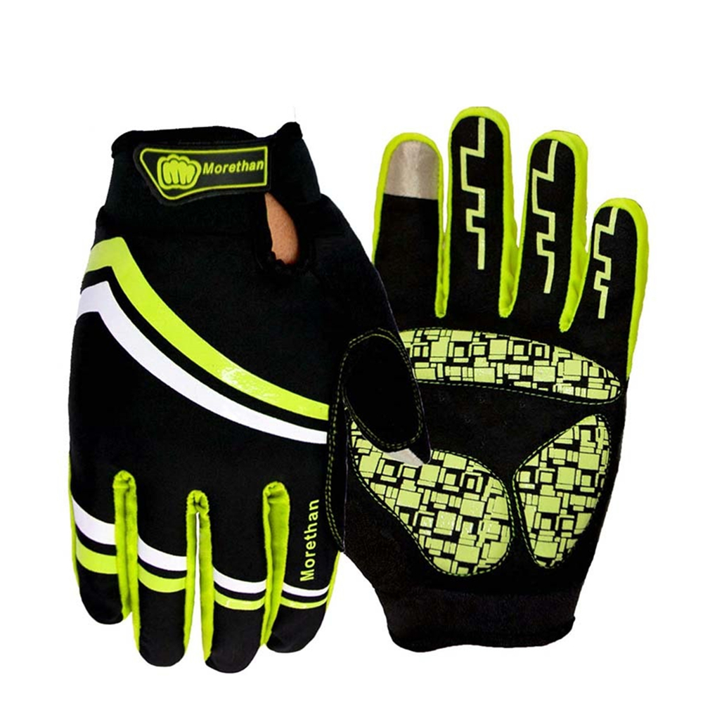 2016 Long Finger Cycling Glove Gel Mountain Bike Bicycle Gloves for Man Woman MTB BMX Road Motocross Gloves Guantes Ciclismo(China (Mainland))