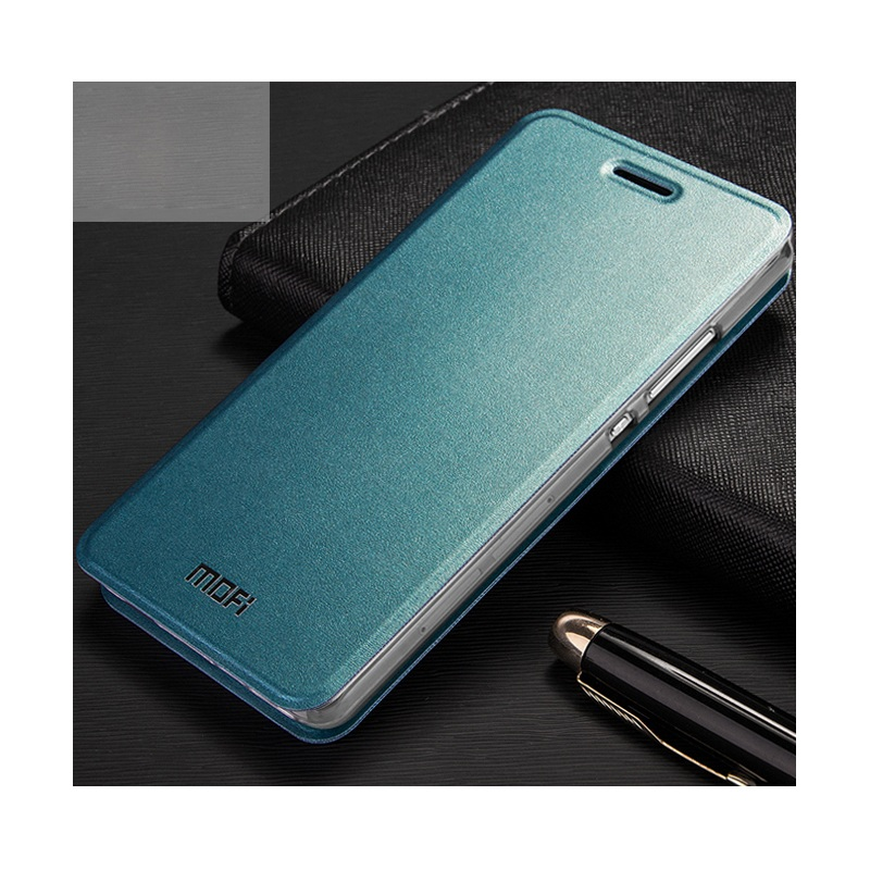 For Huawei P 8 Lite Bag 5.0-inch MOFI Vantage Classical Manganese Steel PU Leather Cover for Huawei Ascend P8 Lite Phone Case(China (Mainland))