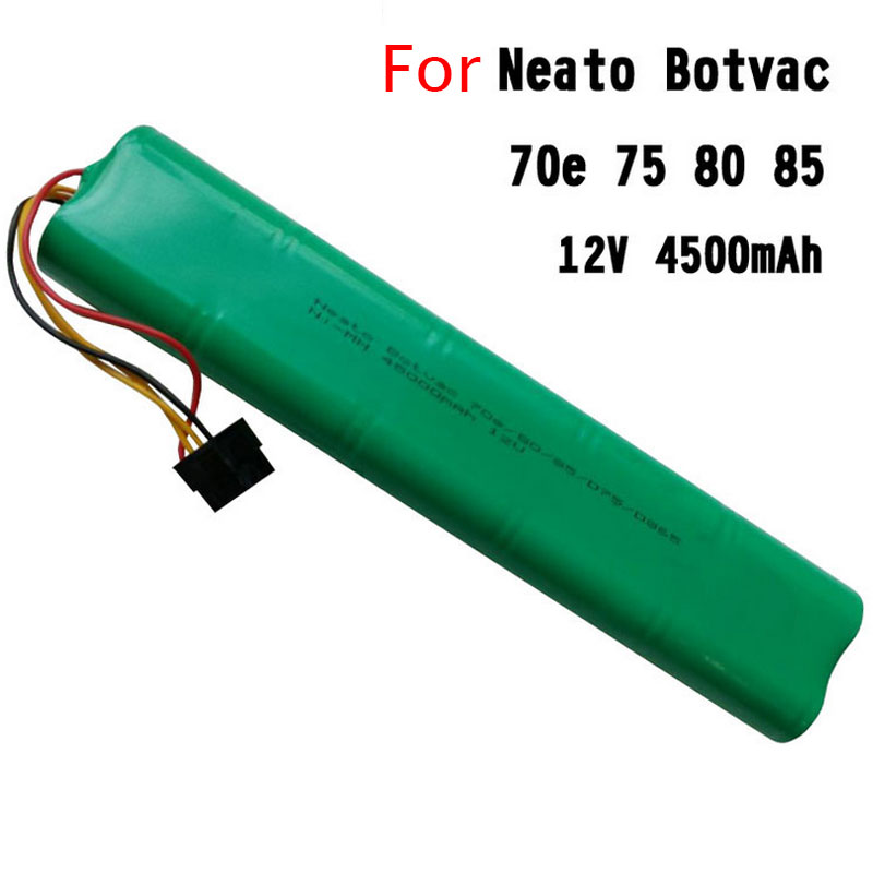New 4500mAh 12V Ni-MH Replacement Battery for Neato BotVac 70e 75 80 85 D75 D85 Series Robotic Vacuum Cleaners(China (Mainland))