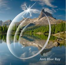 1.61 Index Clear Color Radiation Eye Lens Prescription Anti Blue Ray Lenses