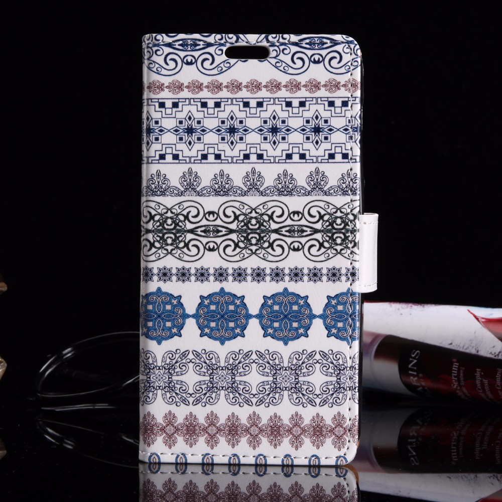 Fashion Denim Jean Bohemia Owl Butterfly Wallet Case for Samsung galaxy On5 G5500 Magnetic Flip Phone Cover Card Slots Stander(China (Mainland))