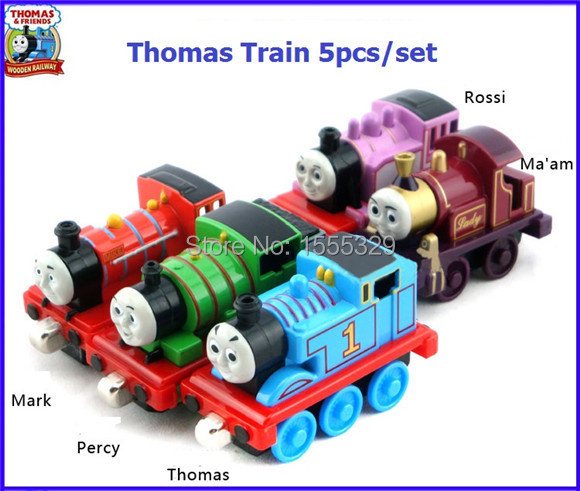 5pcs/lot Learning Curve Thomas & Friends metal train Models collections kids birthday gifts-Christmas Gifts(China (Mainland))