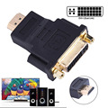 DVI 24 5 pin Female to HDMI Male Adapter Converter DVI to HDMI Adapters For HDTV