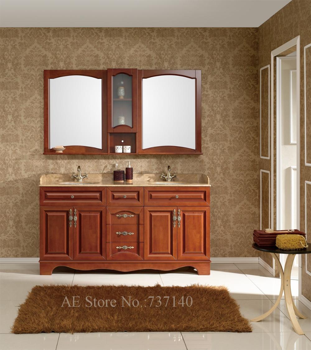 doble lavabo mueble de bao de alta calidad muebles de bao de madera maciza y mrmol agente de compra al por mayor precio