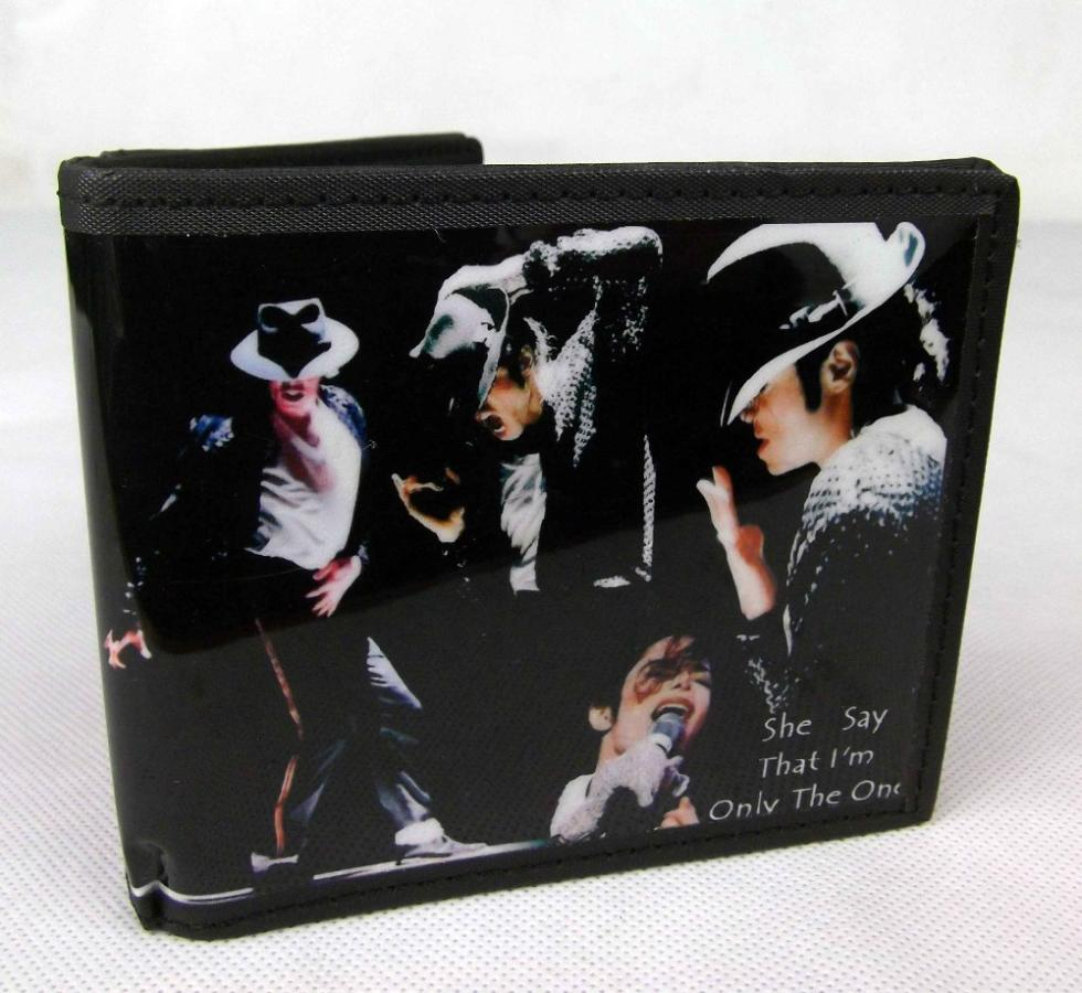 10 Styles Michael Jackson Bad Moonwalker Dangerous Tour  PVC PU Wallet / Coin Purse Gift Collection<br><br>Aliexpress