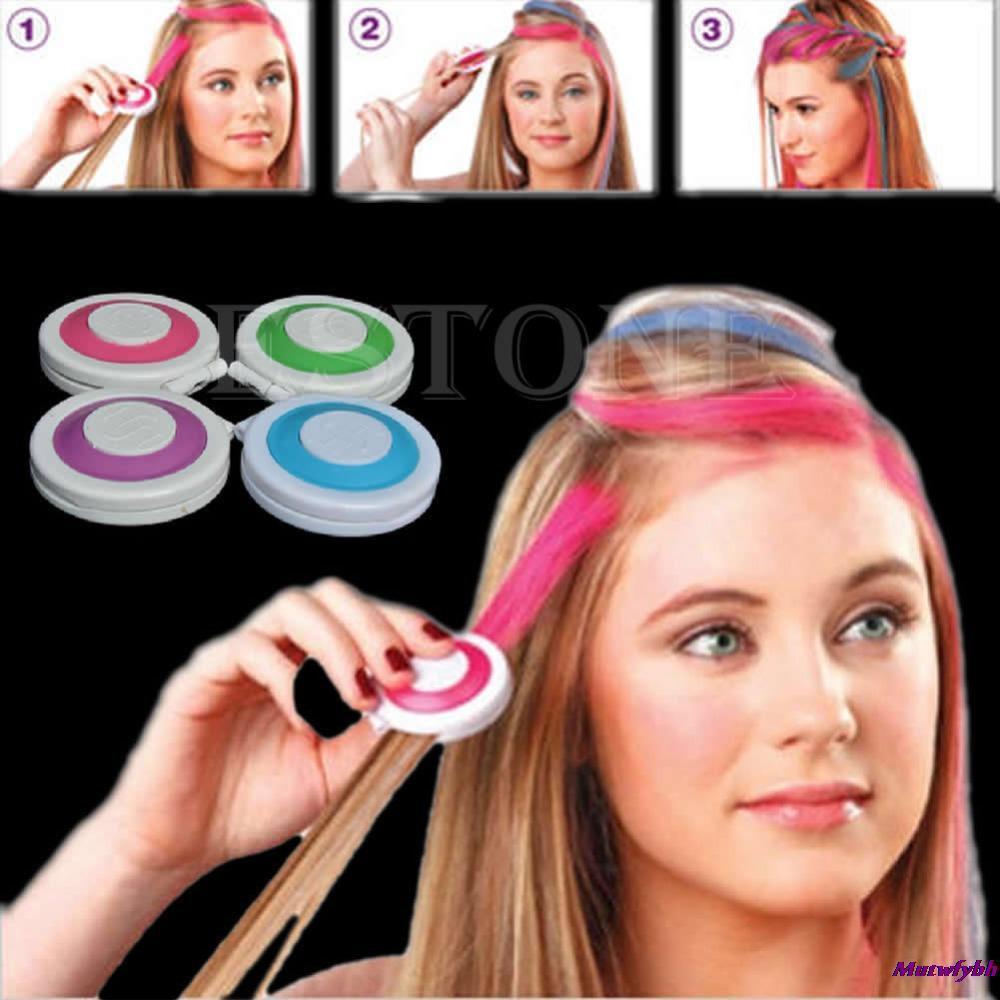 Пастель для волос 4