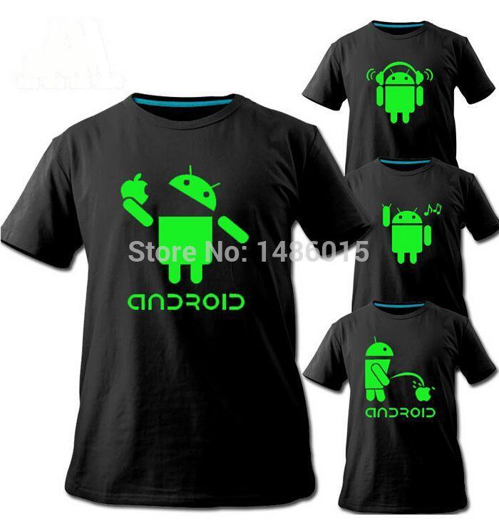 Robot Clothing Logo Robot t Shirt Android Logo
