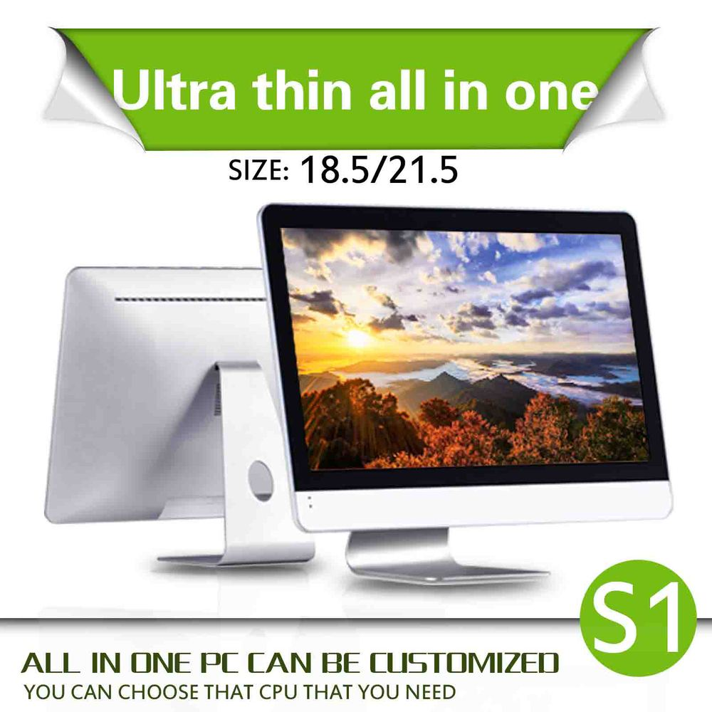 all in one pc X86 computer ABS material celeron dual core C1037U all in one pc mini pc support win7 OS All-in-One PC(China (Mainland))