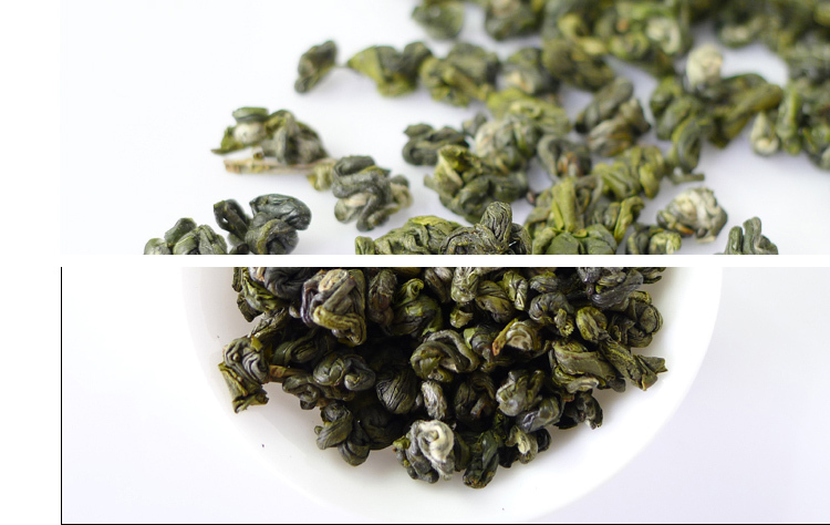 250g Peach Flavour Biluochun Tea 2015 First Spring green tea Fresh Bi Luo Chun green tea