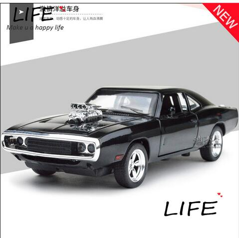 Meritor figure 1 24 Dodge Dodge challenger muscle car simulation model alloy car fast and the furious 7(China (Mainland))