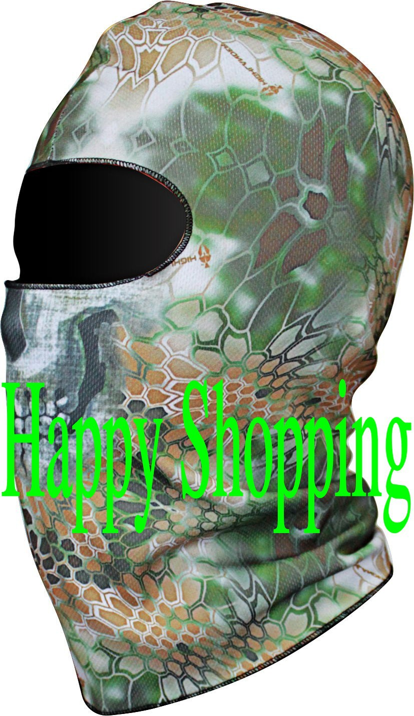1Chiefs Rattlesnake Breathing Dustproof Motorcycle Skiing Cycling Protection Full Face Mask - amy song's store