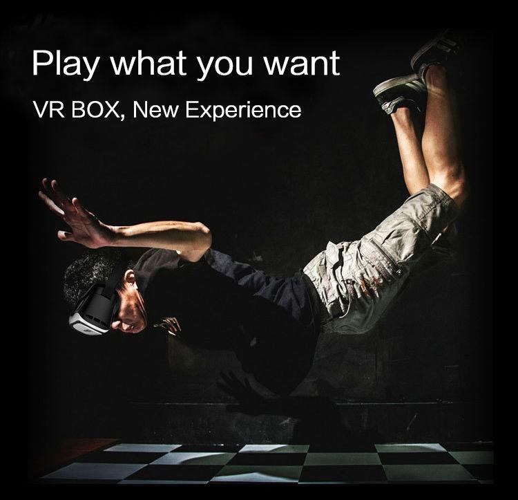 """ถูก 2016G Oogleกระดาษแข็งVR BOX II 2.0รุ่นความจริงเสมือนแว่นตา3D VRควบคุมสำหรับ3.5 """"-6.0""""มาร์ทโฟน"""