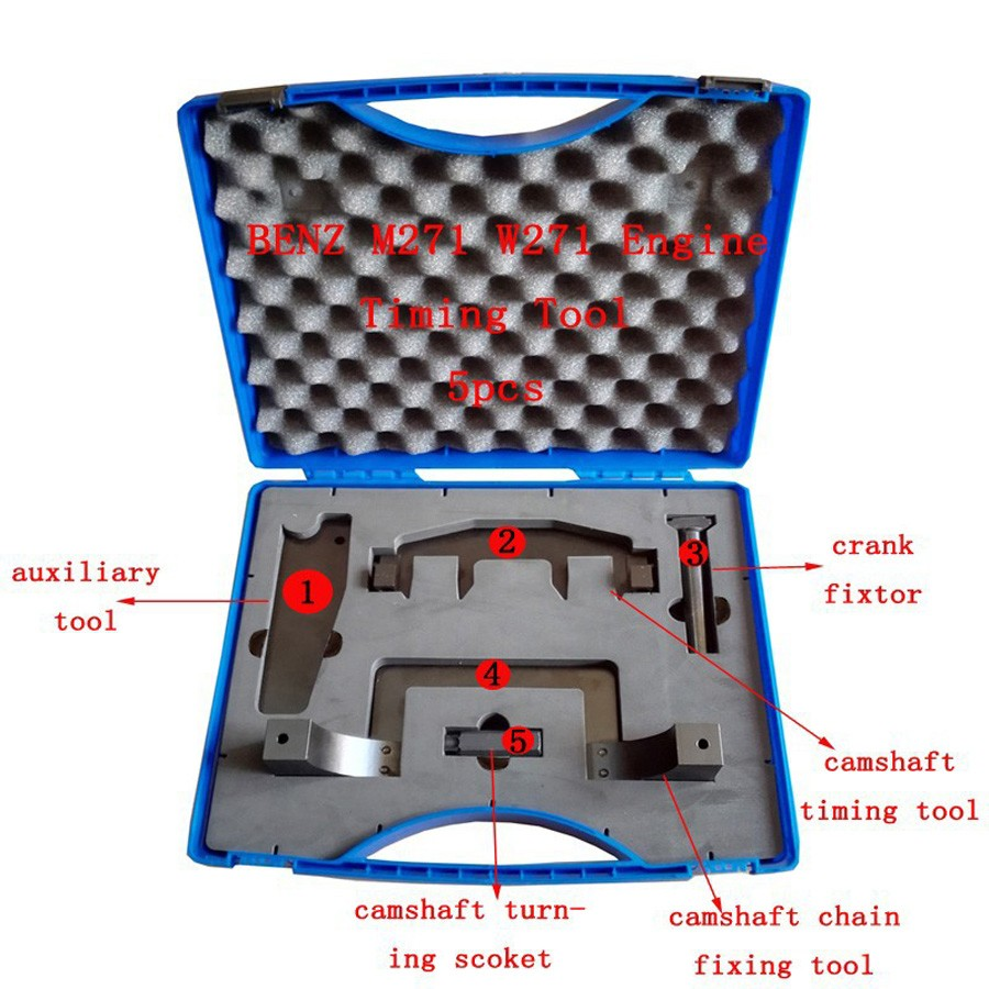Setup And Align Camshafts for Benz M271 Timing Tools Engine Cam Lock Valve Tool Camshaft and Timing Chain Installation Kit(China (Mainland))