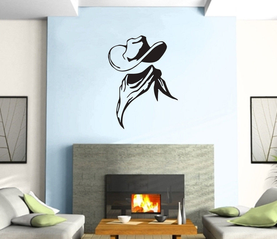 Cowboy club sticker bar decal muurstickers posters vinyl for Club de suscriptores mural