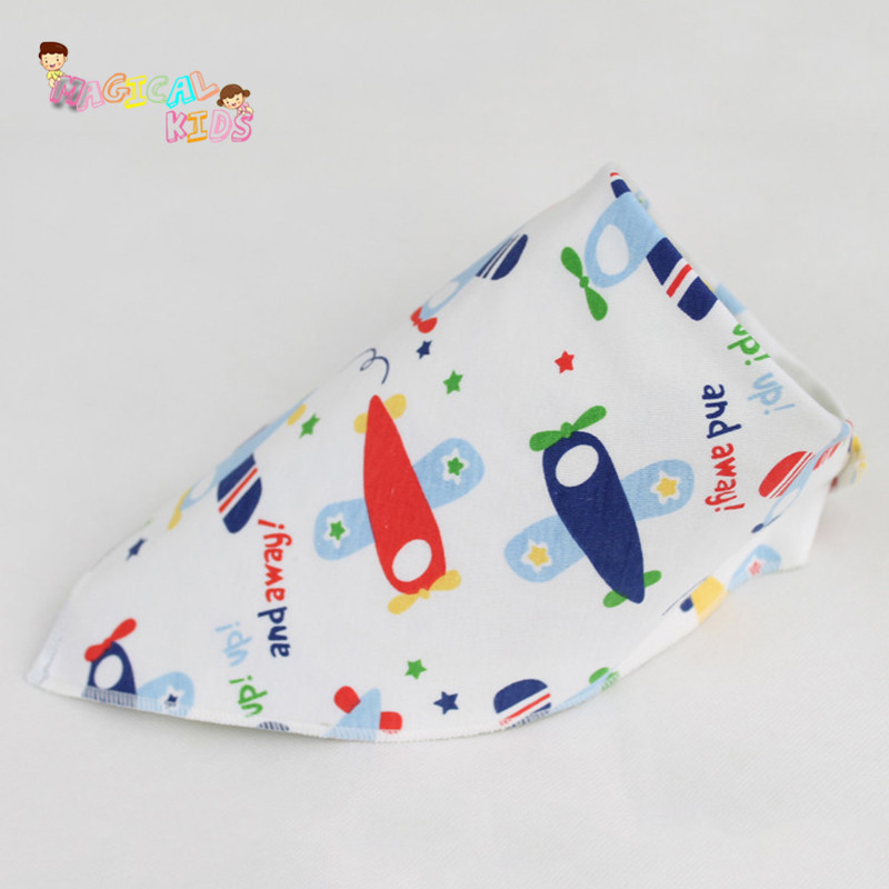 10pcs Lovely Cartoon Character Triangle Scarf Babero Girls font b Feeding b font Smock Burp Cloths