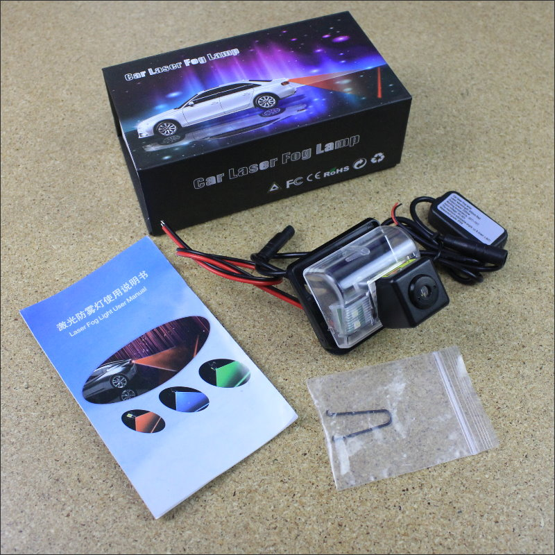 Car Lights Refitting Accessories Mazda CX-7 CX7 CX 7 2007~2013 Laser Light Rear-end Collision Warning Fog Lamps Taillights