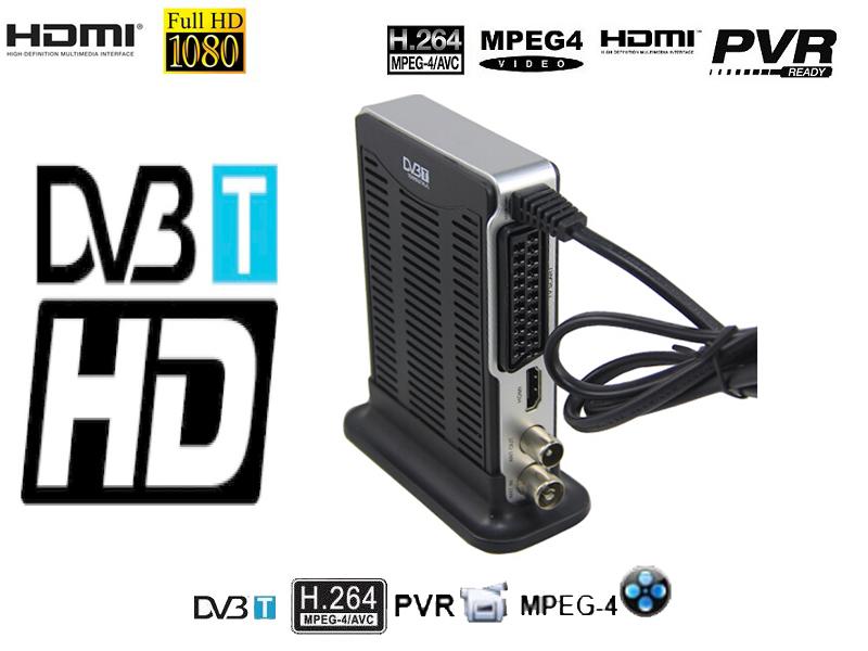 DVB-9002/Support Full HD 1080P H.264/Mpeg4 Mini Scart Terrestrial Receiver Tv Tuner Dvb-t dvb t tv tuner USB+HDMI+PVR+SCART(China (Mainland))