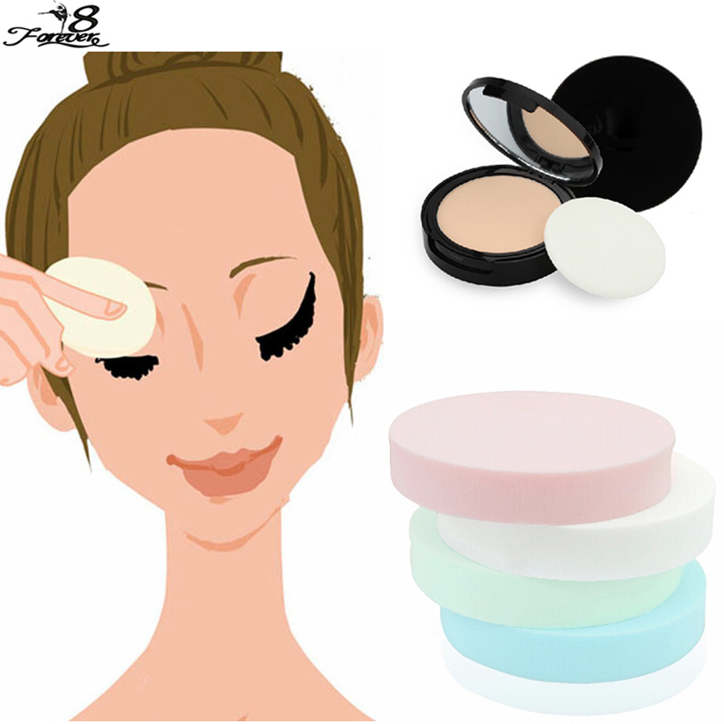 1Set/12PCS Women Beauty Foundation Makeup Cosmetic Facial Face Soft Sponge Powder Puff Beauty Tools Color send randomly(China (Mainland))