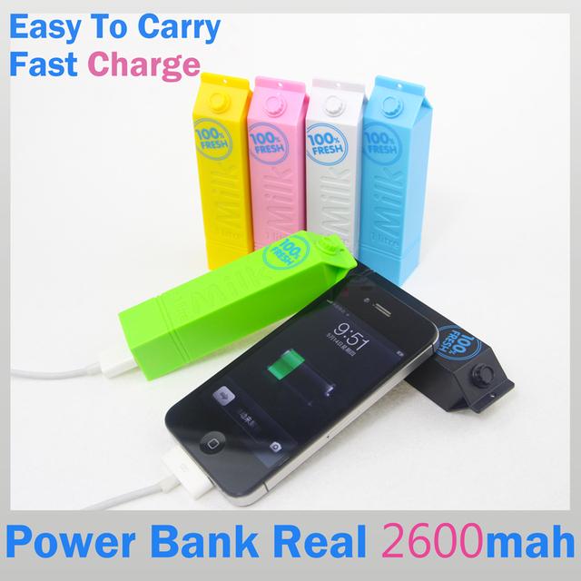 2016 новый портативное зарядное устройство зарядное устройство мобильного внешняя батарея 2600 мАч powerbank каррегадор де bateria portátil для всех телефонов