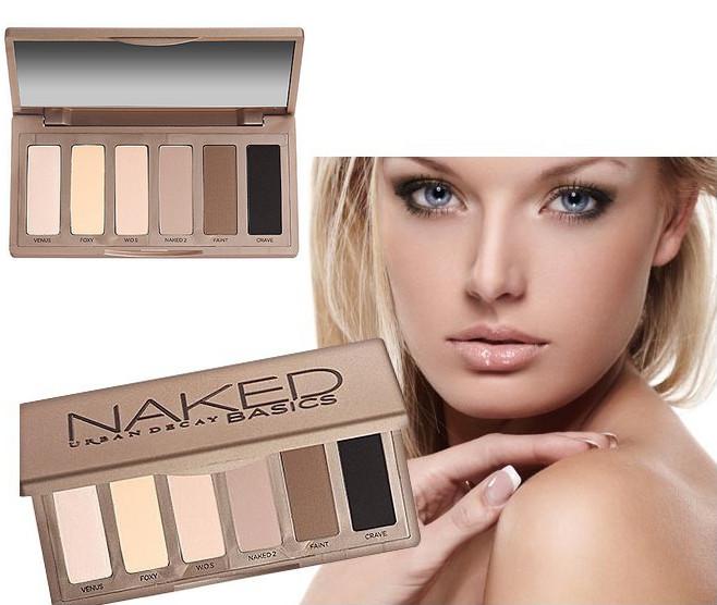 Гаджет  6 colors/set 2015 NAKED BASICS eyeshadow for women girls Hot classic set eye shadow nude makeup  in stock Free Shipping None Красота и здоровье