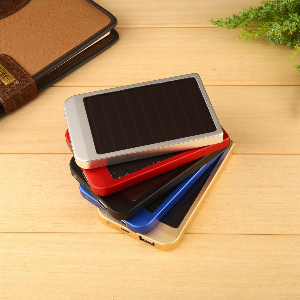 Solar Power Bank 4000mAh Universal Solar Charger Powerbank with LED Torch External Mobile Phones Backup Battery for smartphone(China (Mainland))