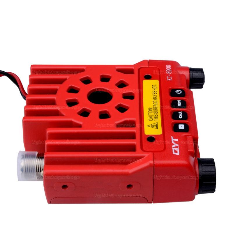 Mini car radio QYT KT-8900 136-174400-480MHz dual band mobile transicever walkie talkie KT8900 (10)