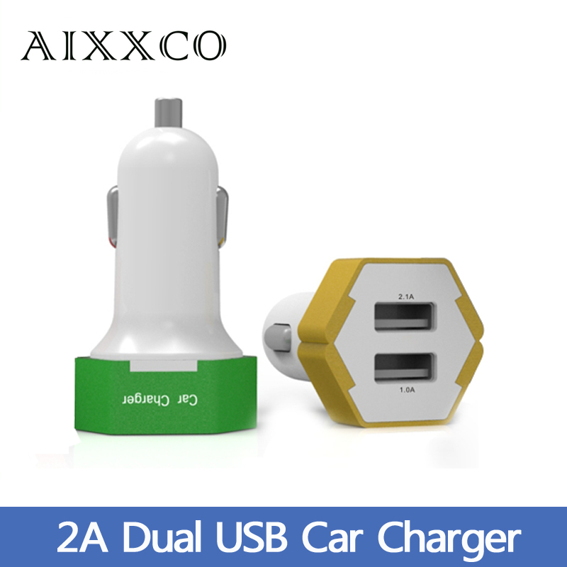 5V 2A Dual Port Mini USB Car Charger Car-charger for iPhone 6 6s 5s 5 Samsung s6 s5 s4 Xiaomi HTC(China (Mainland))