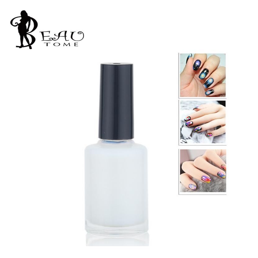 Beautome 2016 1Pcs/LOT Pro Nail Art Glue for Foil Sticker Nail Transfer Tips Adhesive 13ml Liquid Star Nails Polish Nail Art Pen(China (Mainland))
