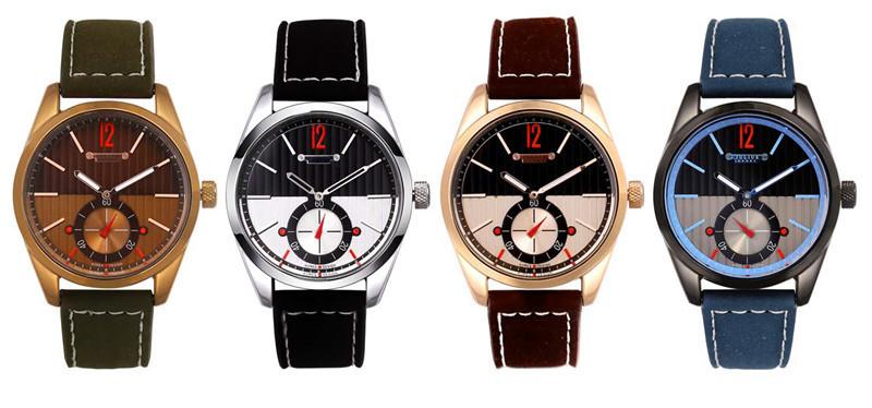 Юлий человек наручные часы кварцевых часов топ мода ретро разные платье браслет кожаный именинник рождество валентина подарок 088