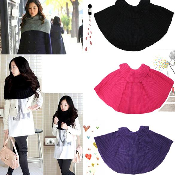 Free shipping New Multifunction Knitting Wool Elastic Shawl Soft Headband Scarf Fashion(China (Mainland))
