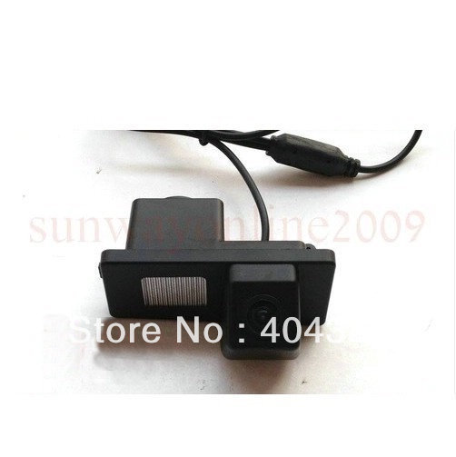 free shipping!! CAR CCD SONY REAR VIEW REVERSE BACKUP PARKING CAMERA FOR Ssangyong Rexton / Ssang yong Kyron with Reference Line(China (Mainland))