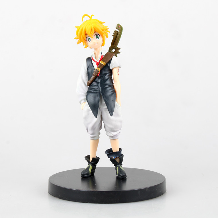 New anime figure toy The Seven Deadly Sins nanatsu no taizai Dragons Sin of Wrath Meliodas 14CM gift for children free shipping<br><br>Aliexpress