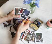 200pcs/lot Novelty photo mini postcard 40 sheets travel postcard Tokyo,Prague,Italy,New York,London,Paris postcard+free shipping