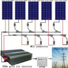 5*100W WATT PV poly Solar cell Panel 12V on grid solar system