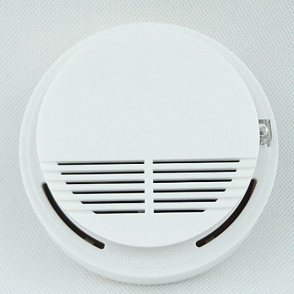 2015 Portable High Sensitive Stable Photoelectric Wireless Smoke Detector Fire Alarm Sensor for Supermarket Home Security Safety(China (Mainland))