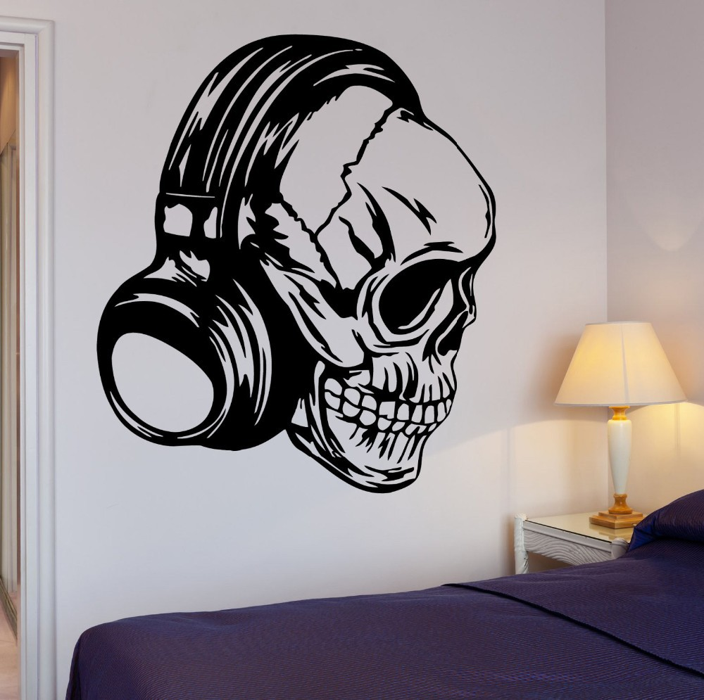 Skull Bedroom Compare Prices On Wall Skulls Online Shopping Buy Low Price Wall
