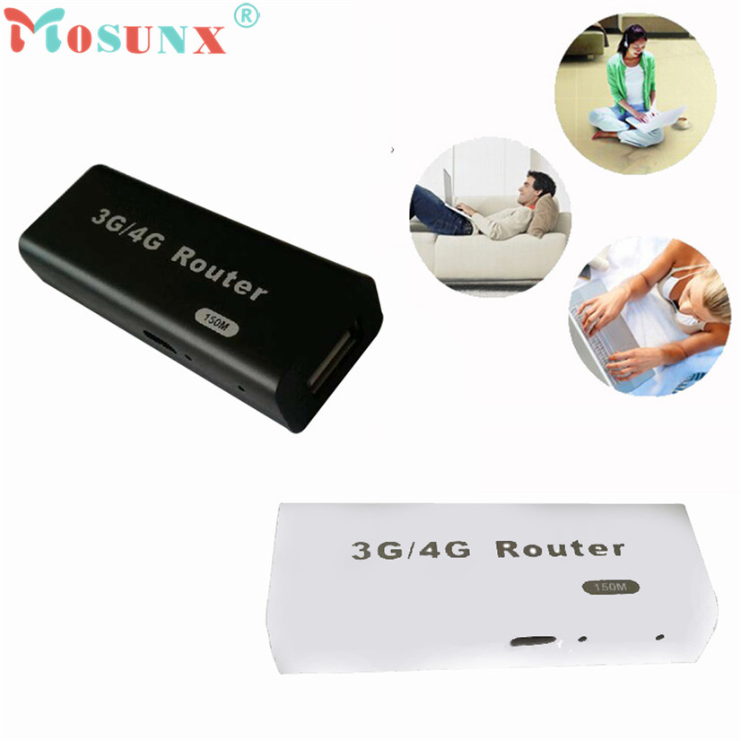 Factory price Hot Sell NOSUNX Mini 3G/4G WiFi Wlan Hotspot AP Client 150Mbps RJ45 USB Wireless Router AU4 Oct19 Drop Shipping(China (Mainland))